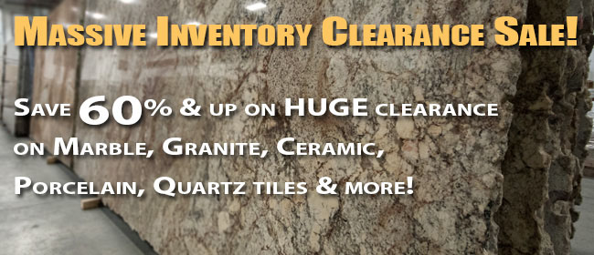 Inventory Clearance Sale - Interstone